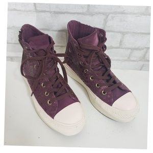 Converse Shoes - Converse All Star Platform Chelsea High Tops 7.5m